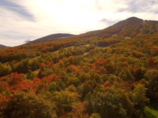 Jay peak in the fall