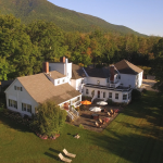 Aerial view of Ormsby Inn in Manchester,Vermont