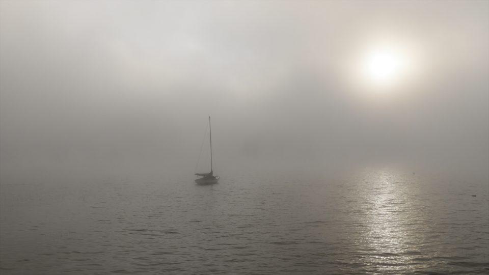island pond sailboat